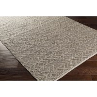Bungalow Rose Khalifa Hand-Woven Gray Area Rug & Reviews ...