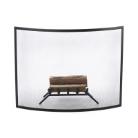 Uniflame Curved Fireplace Screen & Reviews | Wayfair