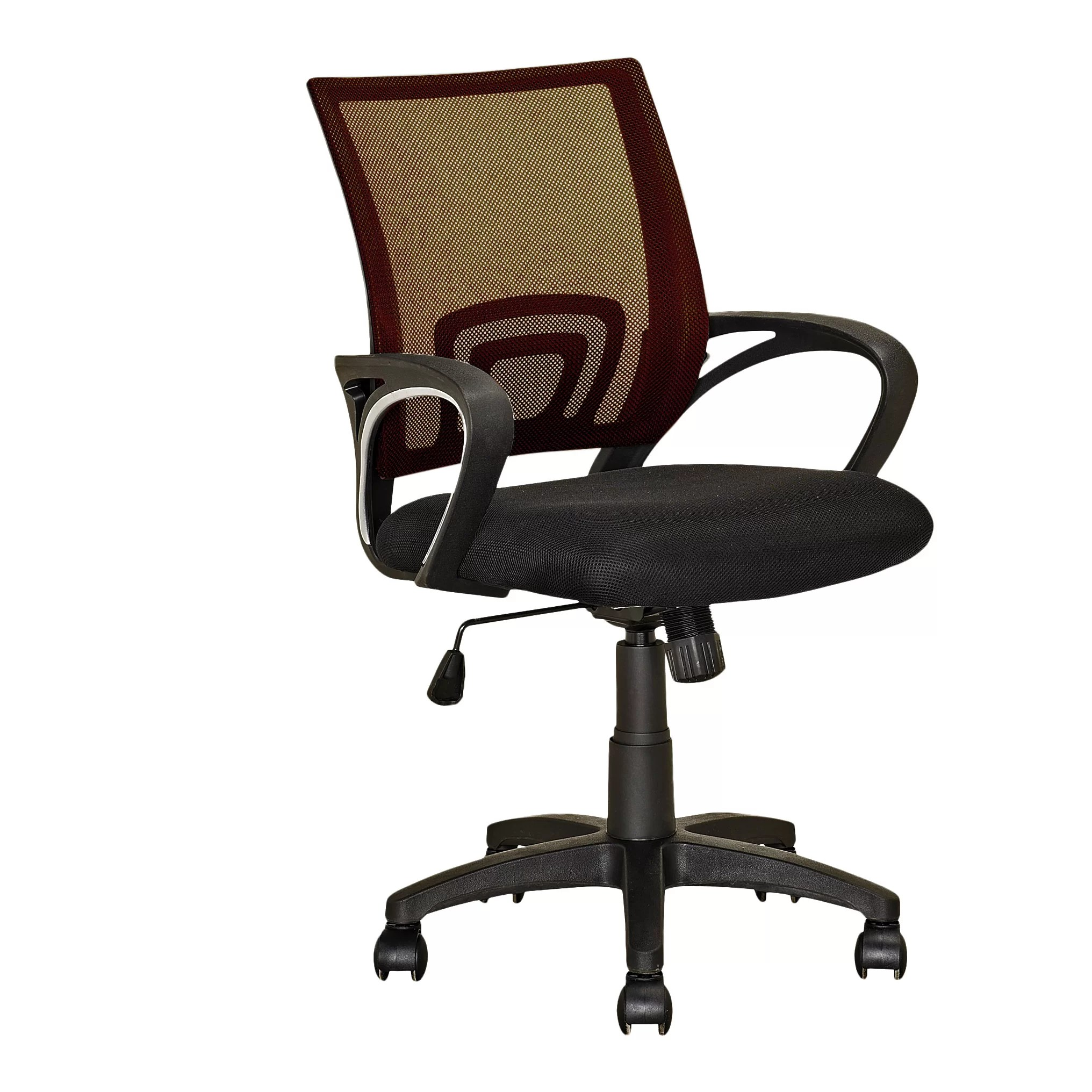 desk chair reviews stacking resin chairs dcor design mesh and wayfair