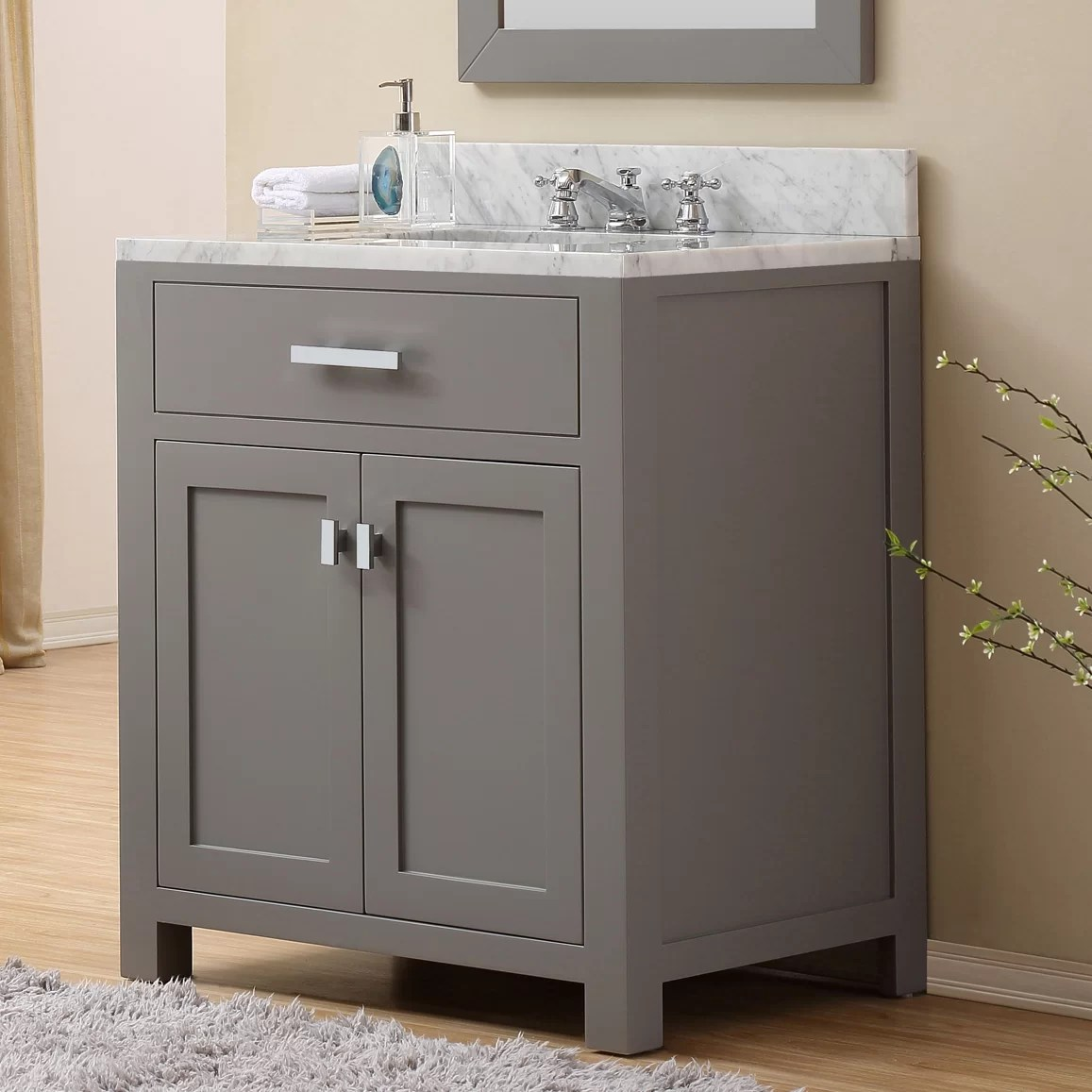 dCOR design Creighton 30 Single Sink Bathroom Vanity Set  Reviews  Wayfair
