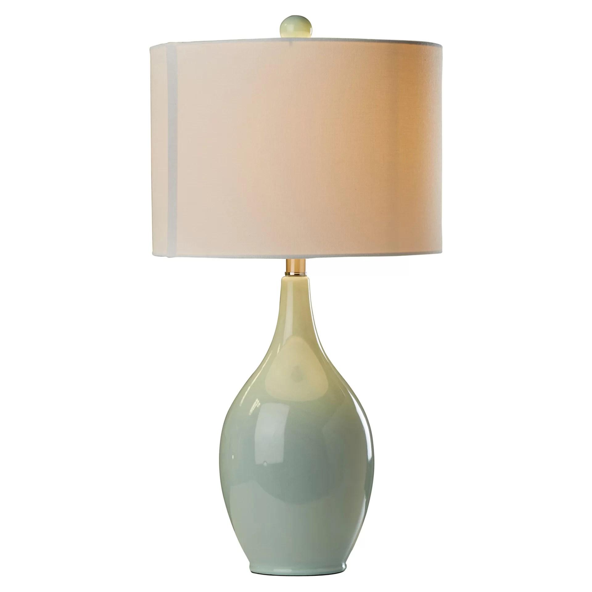 "Mercury Row Abner 27"" Table Lamp & Reviews"