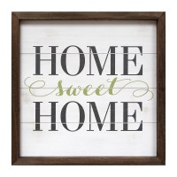 Stratton Home Decor Home Sweet Home Framed Textual Art