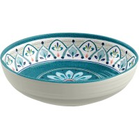 TarHong Moroccan Medallion 12 Piece Dinnerware Set ...