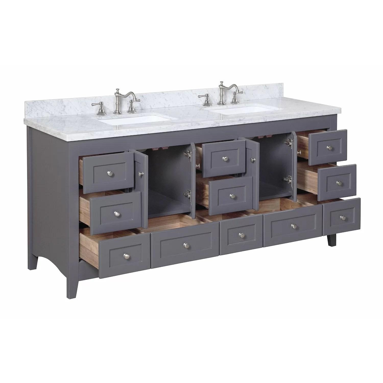 KBC Abbey 72 Double Bathroom Vanity Set  Reviews