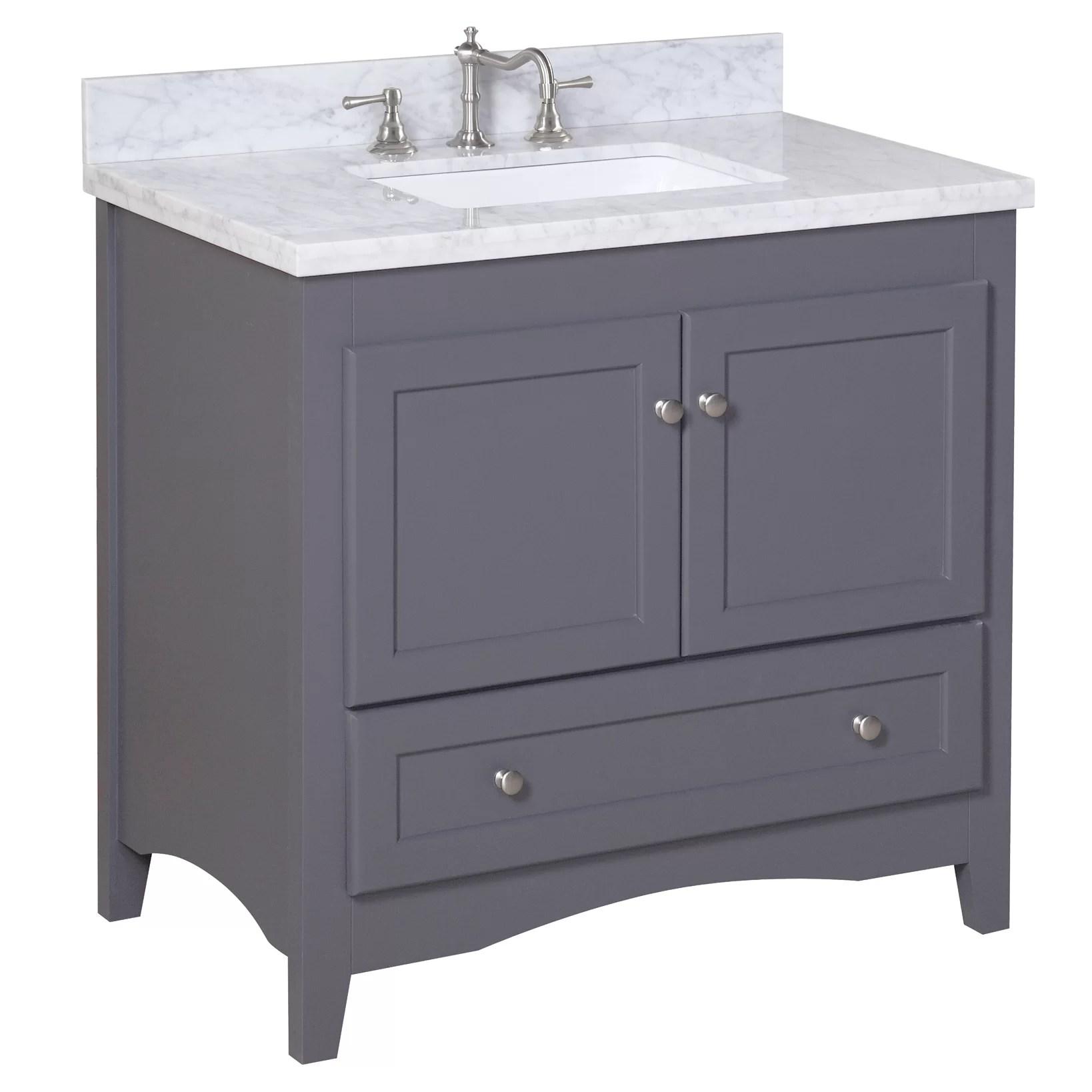 KBC Abbey 36 Single Bathroom Vanity Set  Reviews  Wayfair