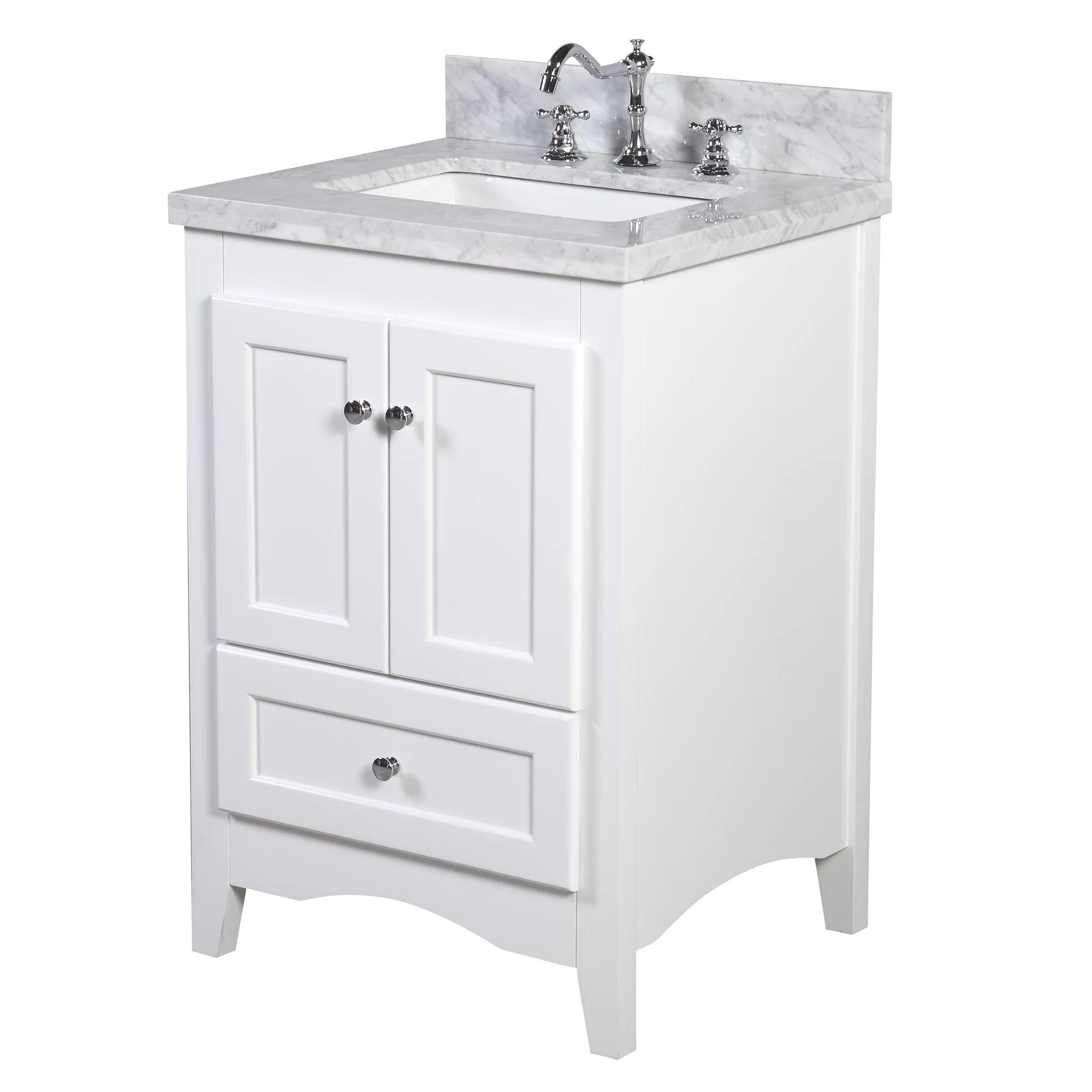 KBC Abbey 24 Single Bathroom Vanity Set  Reviews  Wayfair
