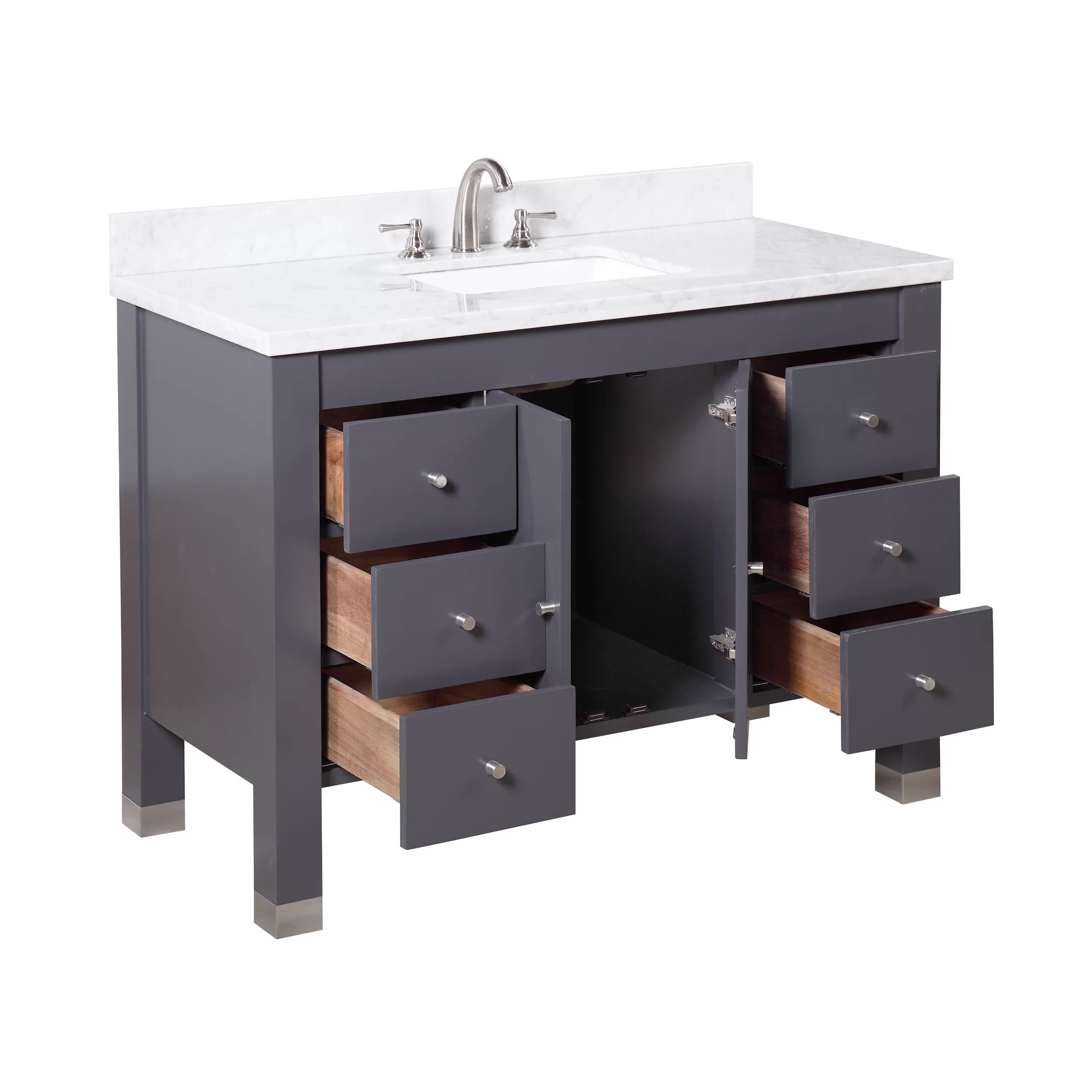 KBC Riley 48 Single Bathroom Vanity Set  Wayfair