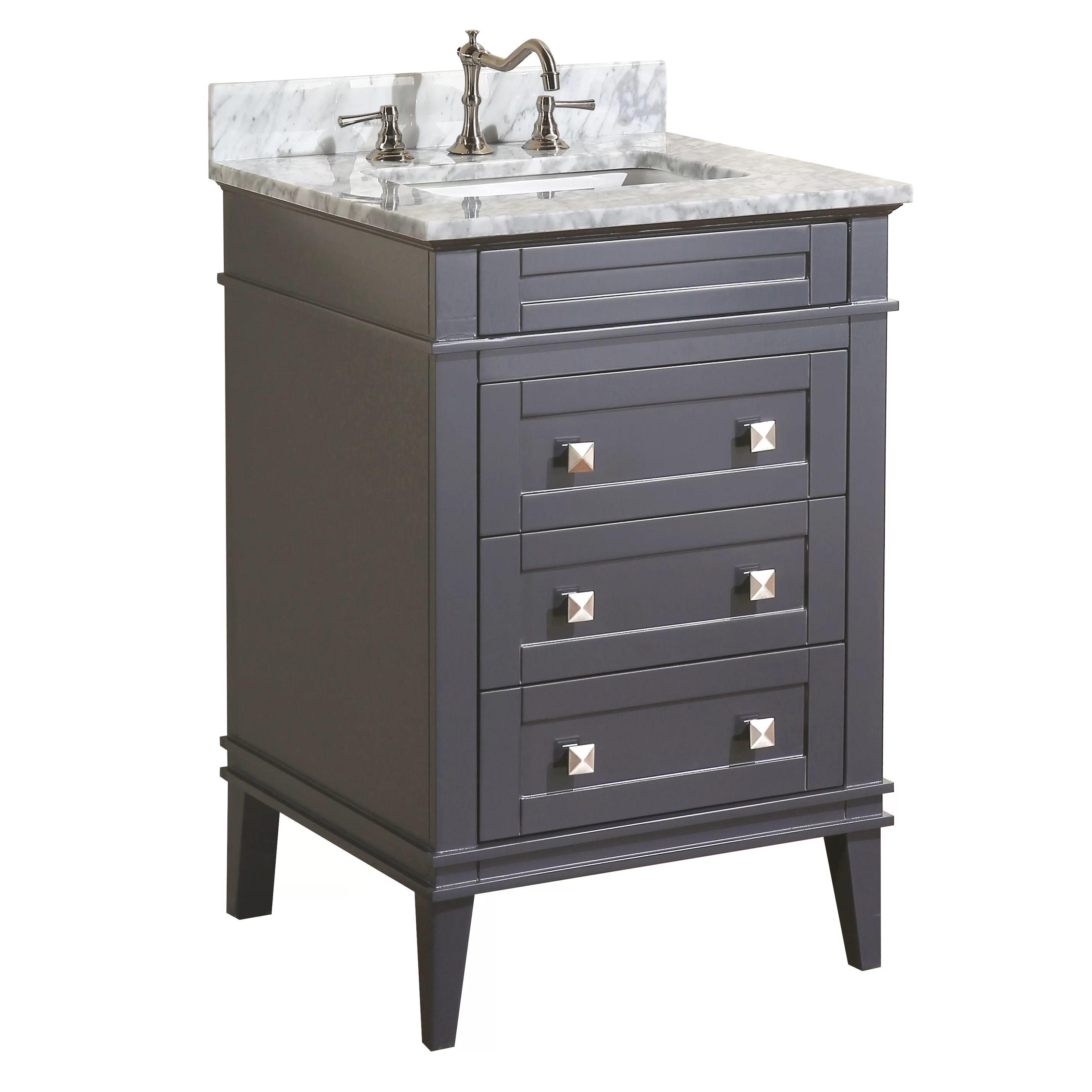 KBC Eleanor 24 Single Bathroom Vanity Set  Reviews