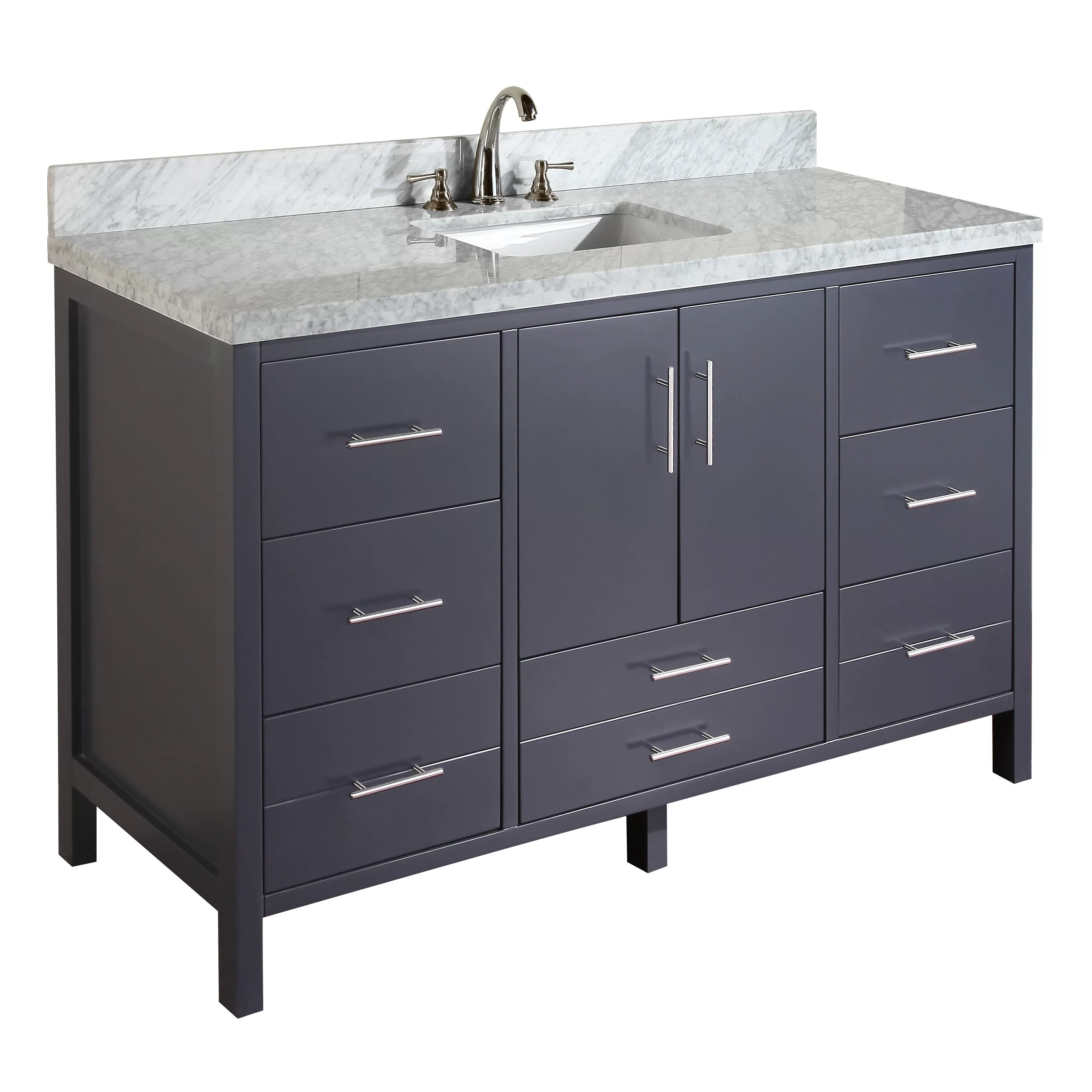 KBC California 60 Single Bathroom Vanity Set  Reviews