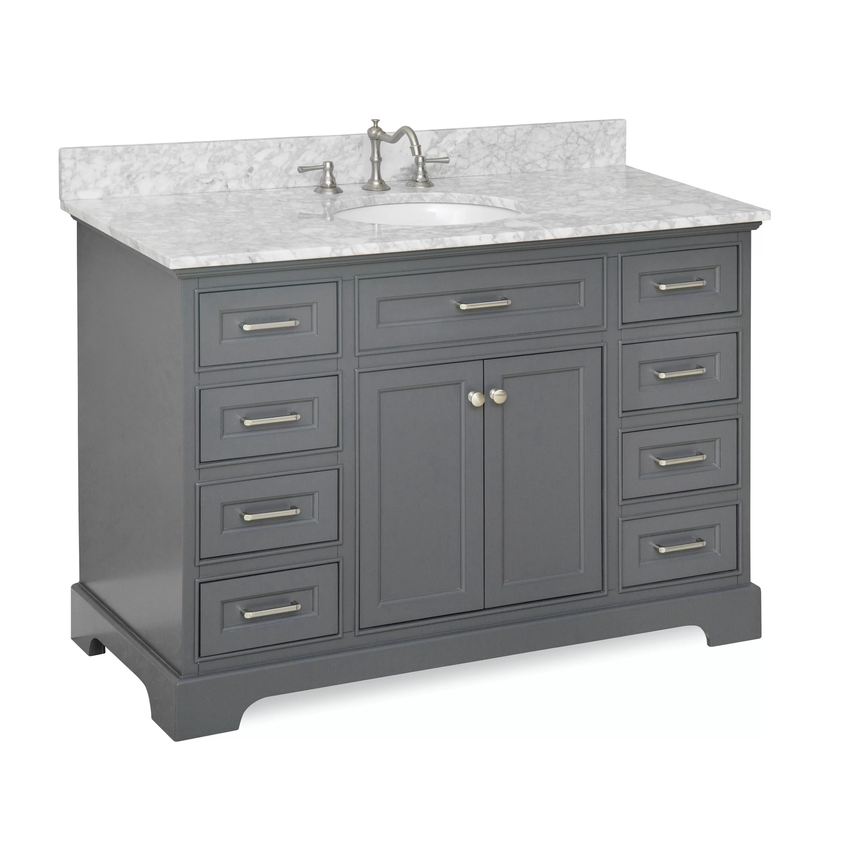 KBC Aria 48 Single Vanity Set  Reviews  Wayfair