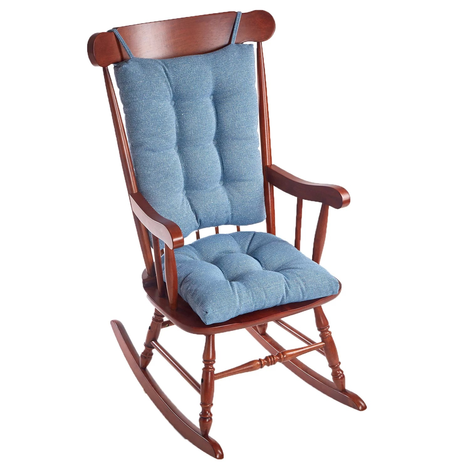 Teal Rocking Chair Klear Vu Saturn Rocking Chair Cushion And Reviews Wayfair