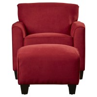 Red Barrel Studio Great Northern Arm Chair and Ottoman ...