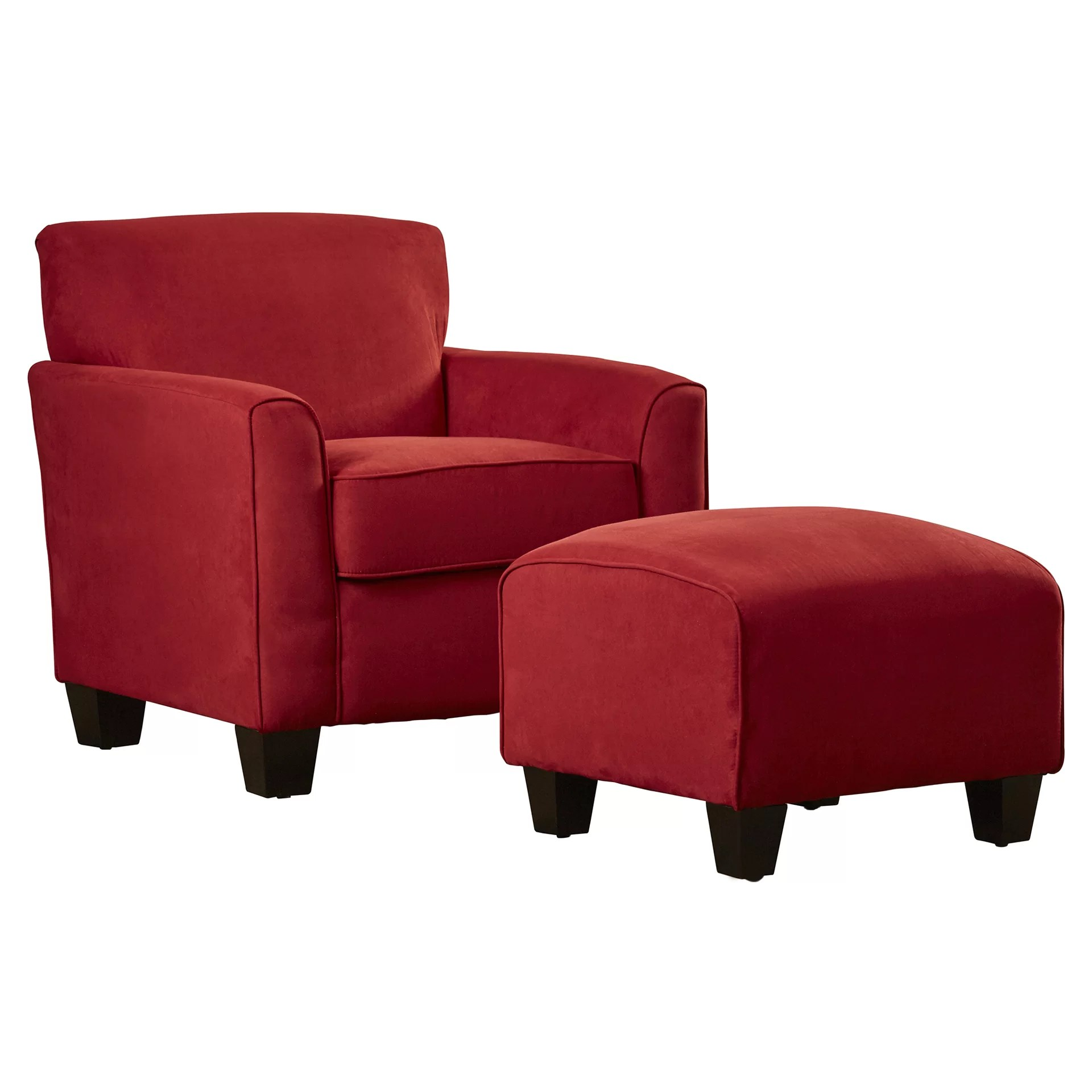 Armed Accent Chairs Red Barrel Studio Great Northern Arm Chair And Ottoman