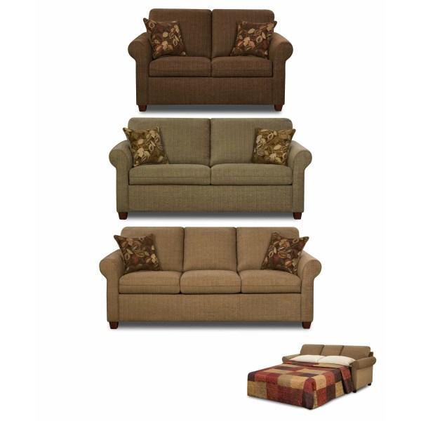 Simmons Upholstery Sleeper Sofa