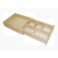 Axis International Wood Expandable Drawer Organizer ...