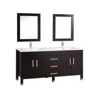 """MTDVanities Monaco 84"""" Double Sink Bathroom Vanity Set ..."""