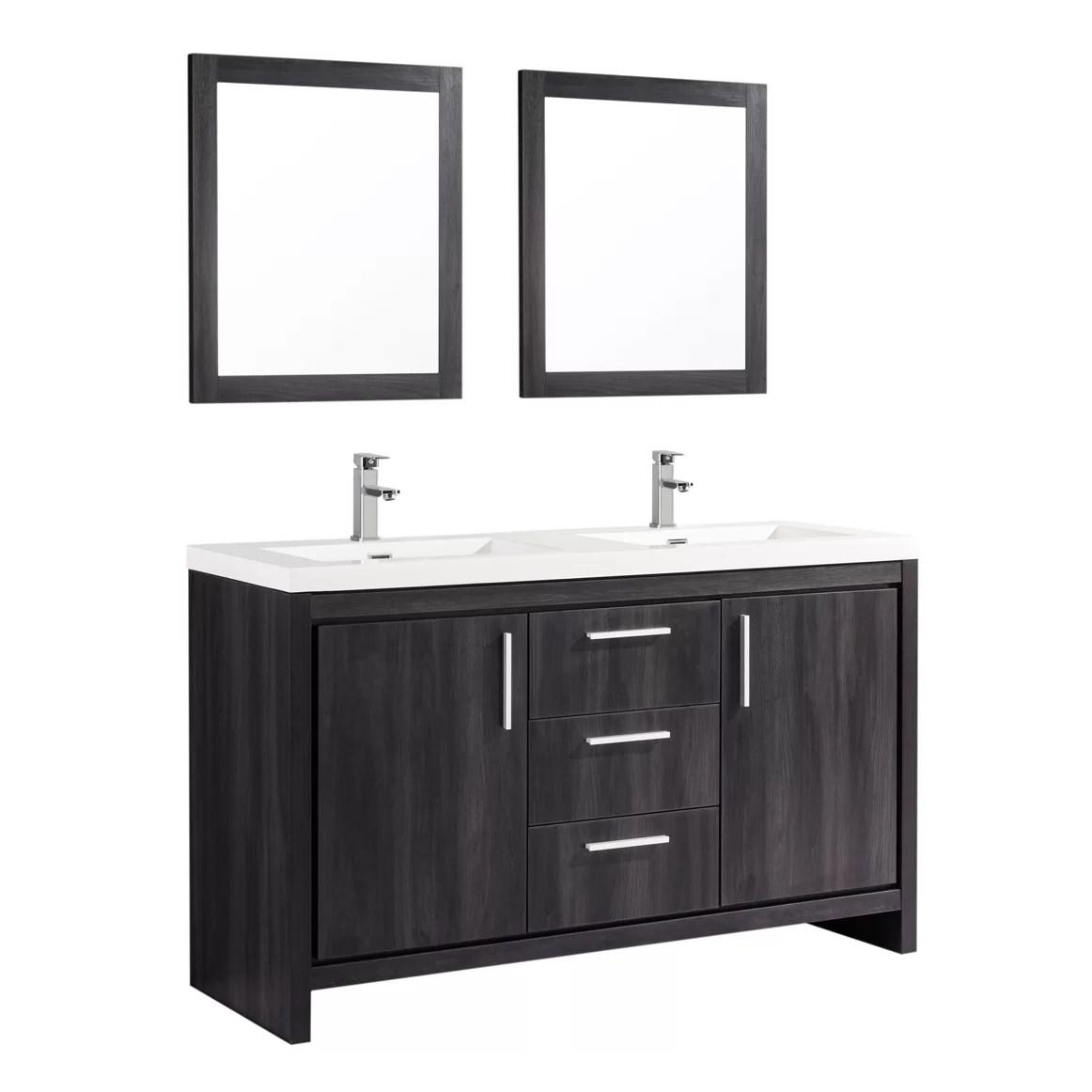 22 Innovative Bathroom Mirrors Double Sink Vanity