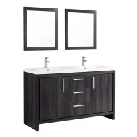 22 Innovative Bathroom Mirrors Double Sink Vanity | eyagci.com