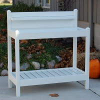Dura-Trel Inc. Greenfield Potting Bench & Reviews | Wayfair
