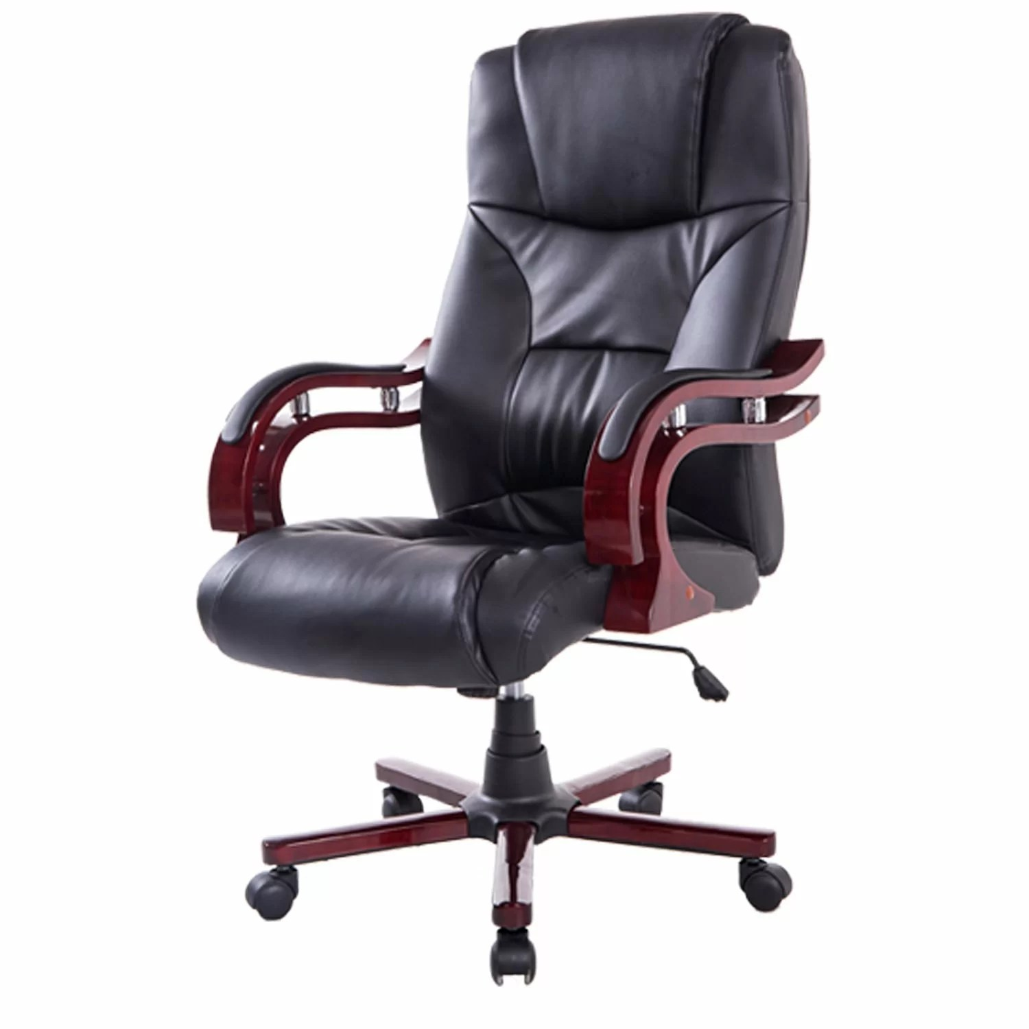 Executive Chair Homcom High Back Executive Office Chair Wayfair Uk