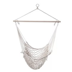 Tree Hanging Hammock Chair Desk On Rollers Adecotrading Woven Rope Suspended Indoor