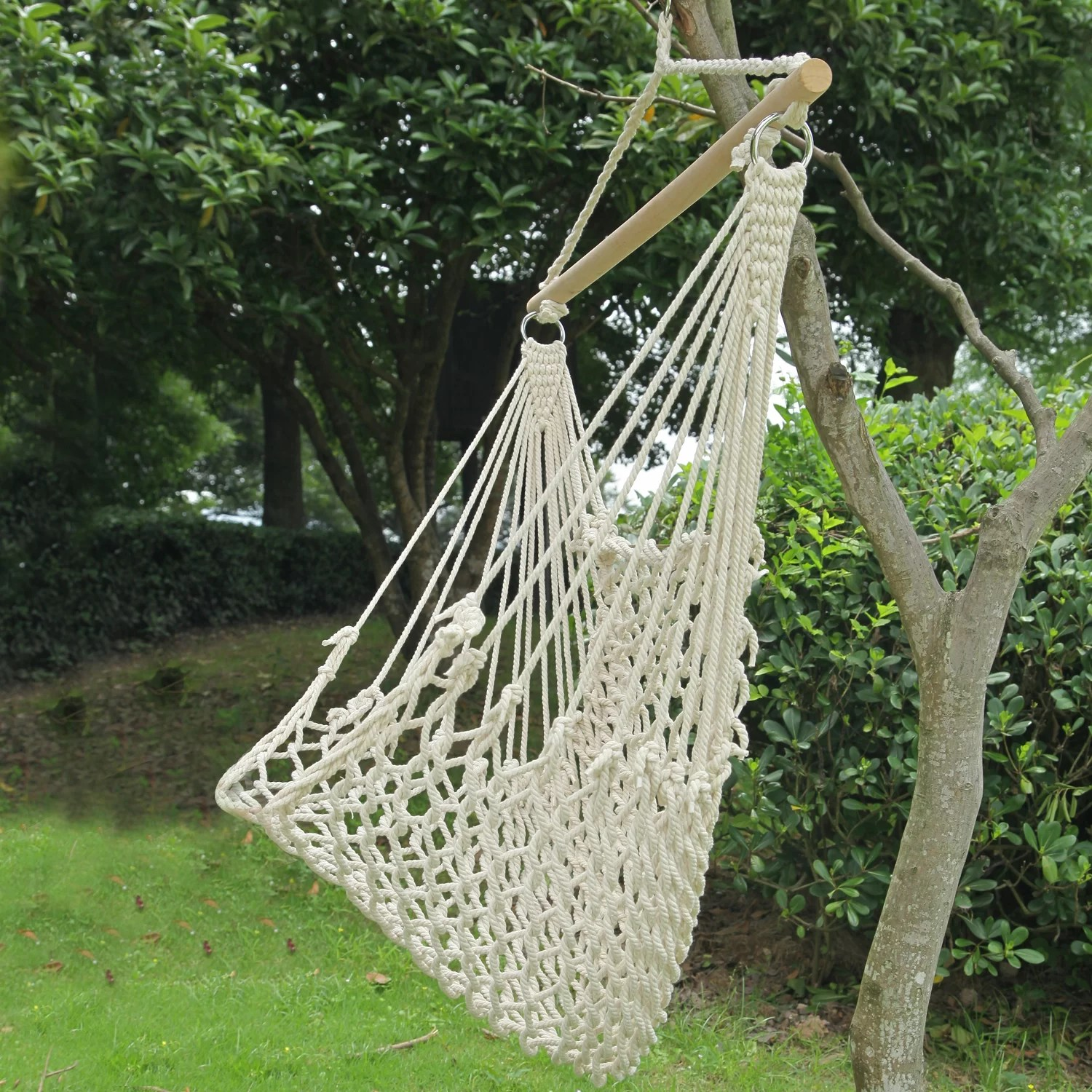 tree hanging hammock chair pink egg replica adecotrading woven rope suspended indoor