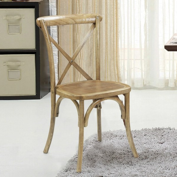 Adecotrading Stackable Dining Side Chair &