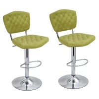 AdecoTrading Adjustable Height Swivel Bar Stool & Reviews ...