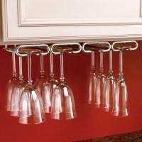 Rev-A-Shelf Hanging Wine Glass Rack & Reviews   Wayfair