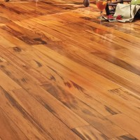 "Easoon USA 5"" Solid Brazilian Tigerwood Hardwood Flooring ..."