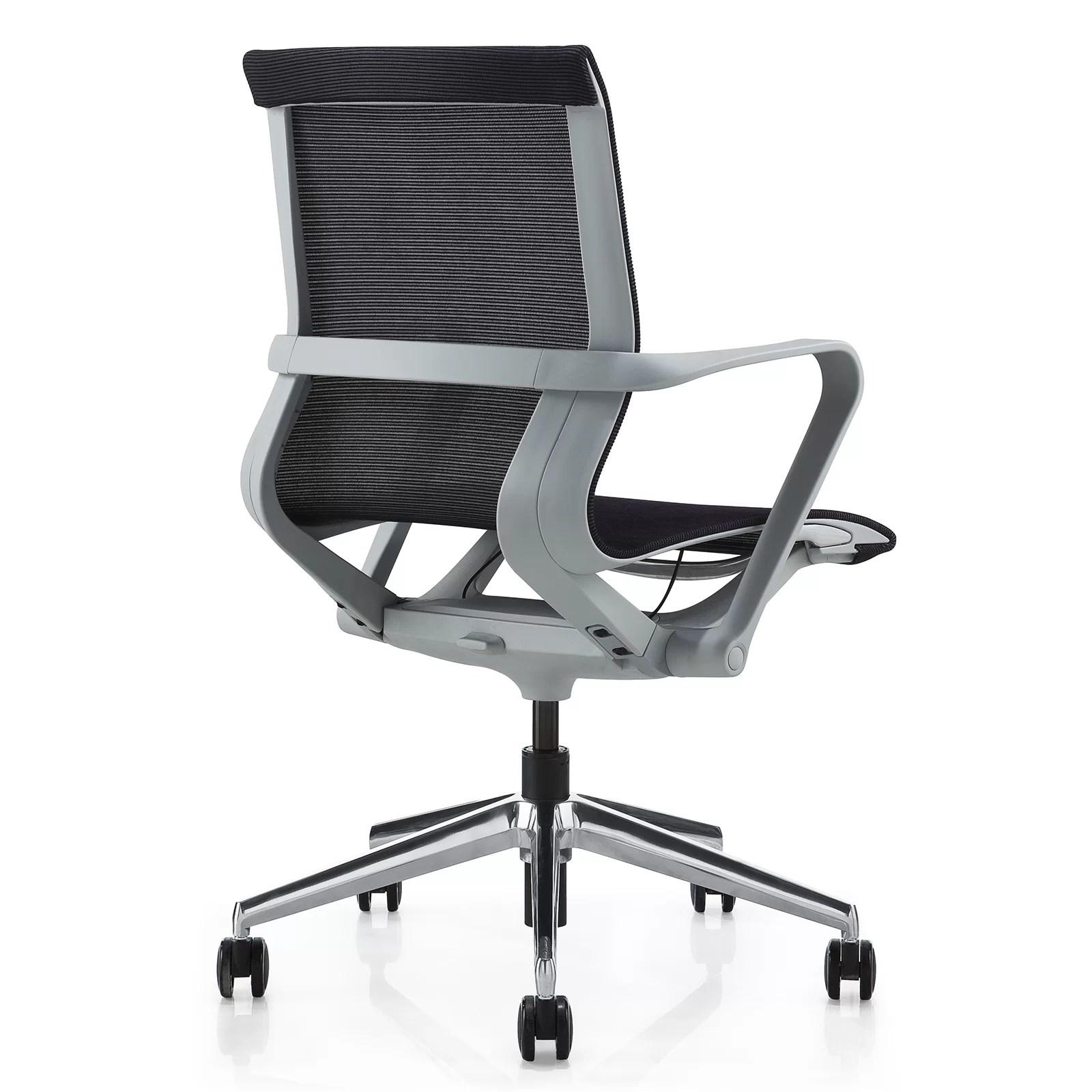 desk chair reviews rocking recliner chairs meelano mesh and wayfair