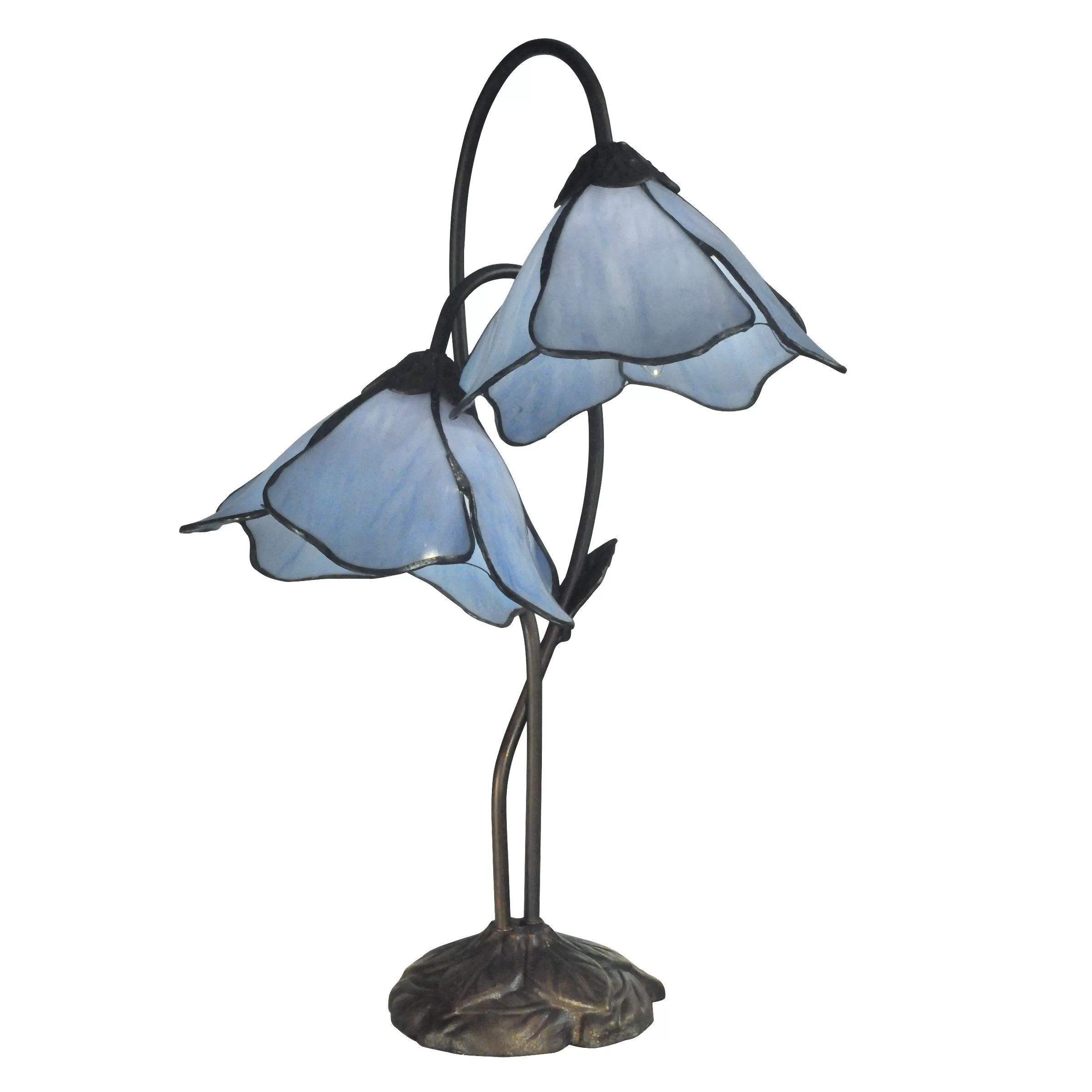 "Dale Tiffany Poelking Lily 21"" Table Lamp & Reviews"