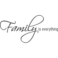 Belvedere Designs LLC Family is Everything Wall Decal ...