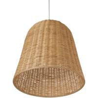 Kouboo 1 Light Wicker Bell Pendant Lamp & Reviews | Wayfair