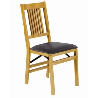 Stakmore True Mission Wood Folding Chair & Reviews | Wayfair