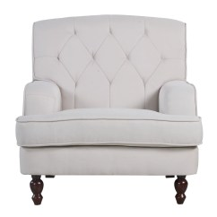 Living Room Arm Chair Inexpensive High Chairs Madison Home Usa Modern Tufted Fabric