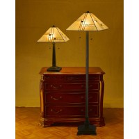 DynamicWay Serena d'italia 2 Piece Table and Floor Lamp ...