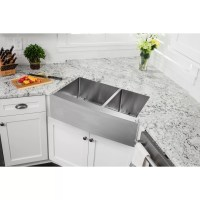 """Soleil 33"""" x 20"""" Stainless Steel 16 Gauge Apron Front 60 ..."""