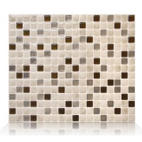 Smart Tiles Minimo 29.34cm x 24.49cm Peel & Stick Mosaic ...