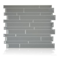 Smart Tiles Milano 24.46cm x 29.34cm Peel & Stick Mosaic ...
