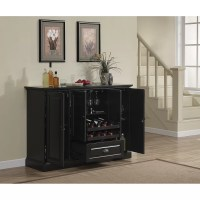 Darby Home Co Styward Bar Cabinet with Wine Storage ...