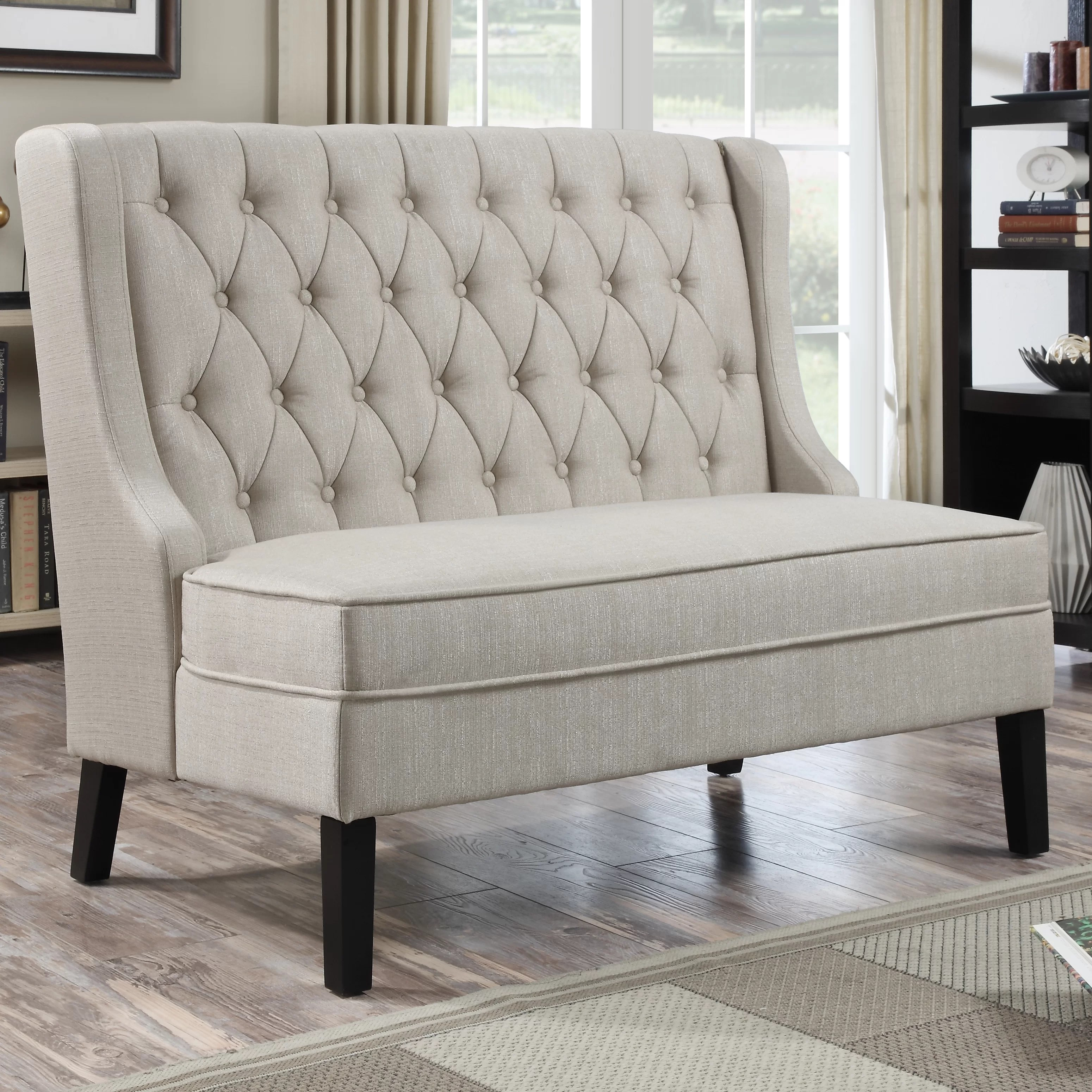 Darby Home Co Curran Upholstered Bench Amp Reviews Wayfair
