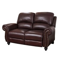 Darby Home Co Kahle Leather Reclining Loveseat & Reviews ...