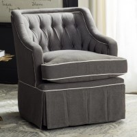 Darby Home Co Knepper Swivel Club Chair & Reviews