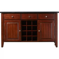 Darby Home Co Matheson Buffet with Wine Rack & Reviews ...