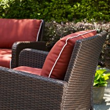 Darby Home Boller 4 Piece Deep Seating Group With