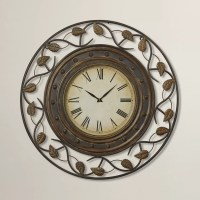 "Darby Home Co Cleffort 36"" Decorative Wall Clock & Reviews"