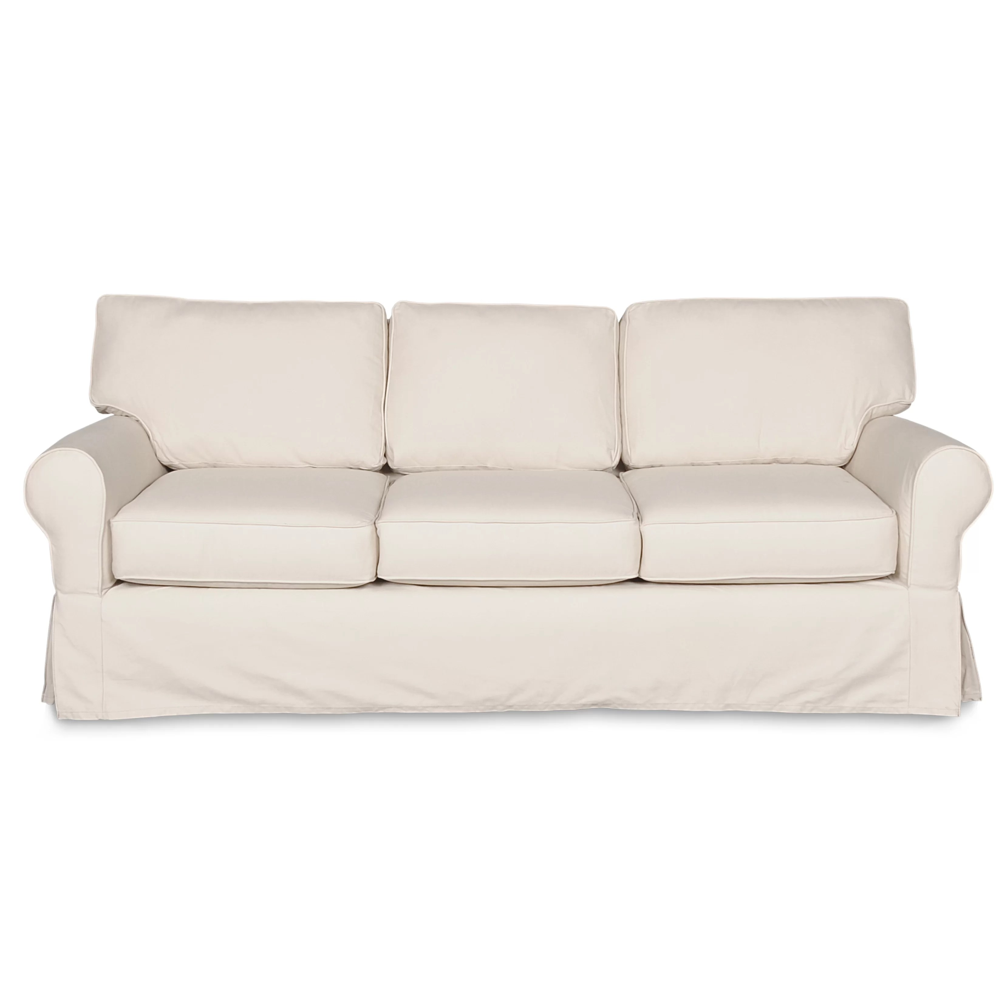 wayfair sofa covers large chesterfield sofas uk darby home co slipcover and reviews