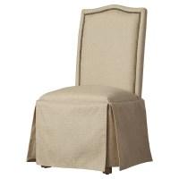 Alcott Hill Fredericksburg Skirted Parson Chair & Reviews ...