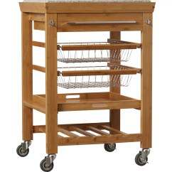 Marble Top Kitchen Cart Outdoor Vent Hood Alcott Hill Barhill With Granite